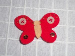 mariposa roja-2€
